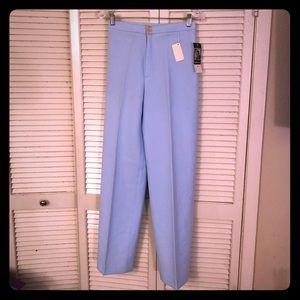 🌺NEW🌺NWT VTG light blue high waisted trousers